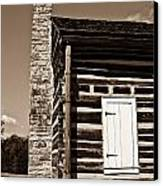 Early American House Canvas Print by Douglas Barnett