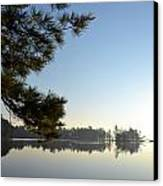 Early Morning On Lost Lake Canvas Print