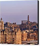 Edinburgh Scotland - A Top-class European City Canvas Print by Christine Till