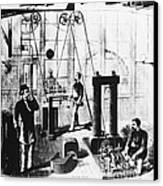 Edisons Electric Generator Canvas Print