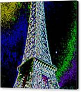 Eiffel Canvas Print by David Alvarez