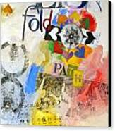 Eight Of Spades 30-52 Canvas Print by Cliff Spohn
