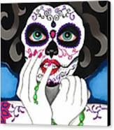 El Rosario Sagrado Canvas Print by B Marie