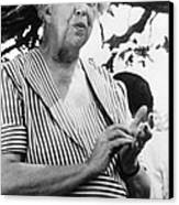 Eleanor Roosevelt 1884-1962, First Lady Canvas Print by Everett