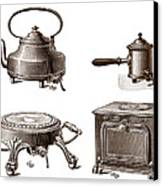 Electrical Appliances, 1900 Canvas Print by Sheila Terry