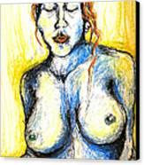 Eli Canvas Print by Nina Mirhabibi