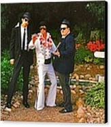 Elvis And The Blues Canvas Print