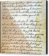 Emancipation Proc., P. 2 Canvas Print by Granger