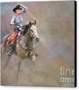 Emerging Canvas Print by Susan Candelario