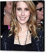 Emma Roberts At Arrivals For The Canvas Print by Everett