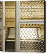 Empty Jail Holding Cell Canvas Print
