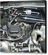 Engine Bay Canvas Print