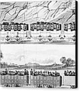 England: Railroad Travel Canvas Print