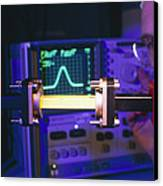 Equipment For Superluminal Microwaves Canvas Print by Volker Steger