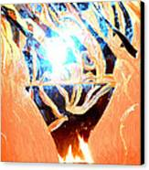 Eternal Torch Canvas Print by Tyler Schmeling