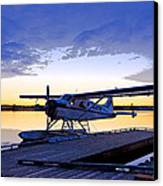 Evening Light On A Dehavilland Beaver- Abstract Canvas Print by Tim Grams