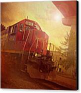 Express Train Canvas Print by Joel Witmeyer