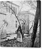 Exterior Of The Slave Pen Of Price Canvas Print by Everett