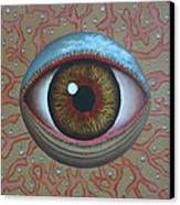 Eye Dew Canvas Print