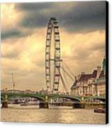 Eye Of The City Canvas Print by Sharon Lisa Clarke