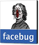 Facebug For Women Canvas Print