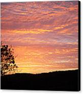 Fall Sunrise Canvas Print by Metro DC Photography