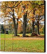 Fall Swing Canvas Print by Jennifer Compton