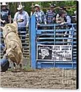 Fallen Cowboy Canvas Print