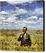 Farm Life - A Good Crop Canvas Print by Nikki Marie Smith