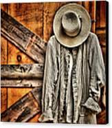 Farmer's Wear Canvas Print by Pat Abbott