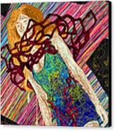 Fashion Abstraction De Dan Richters Canvas Print