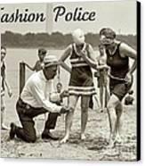 Fashion Police 1922 Canvas Print