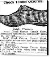 Fashion: Sneakers, 1895 Canvas Print by Granger