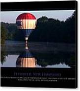 Feel Like Floating Canvas Print by Jim McDonald Photography