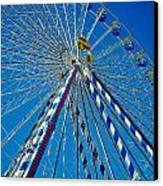 Ferris Wheel - Nuremberg  Canvas Print by Juergen Weiss