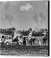 Festival Final Bw Canvas Print by Chuck Kuhn
