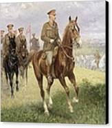 Field Marshal Haig Canvas Print by Jan van Chelminski