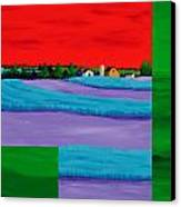 Fields Of Green Canvas Print by Randall Weidner