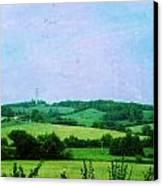 Fields Canvas Print by Sandrine Pelissier