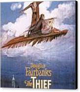 Film: The Thief Of Bagdad: Canvas Print by Granger