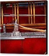 Fireman - Nice Axe  Canvas Print by Mike Savad