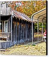 Fireman Cottage Canvas Print by Douglas Barnard