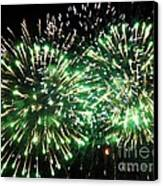 Fireworks Number 4 Canvas Print by Meandering Photography