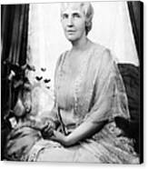 First Lady Lou Henry Hoover 1874-1944 Canvas Print by Everett