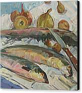 Fish Soup Canvas Print by Juliya Zhukova