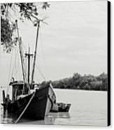 Fishing Bumboat Canvas Print