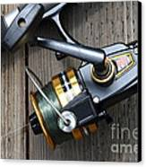 Fishing Rod And Reel . 7d13565 Canvas Print by Wingsdomain Art and Photography