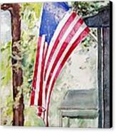 Flag Day Canvas Print by Regina Ammerman