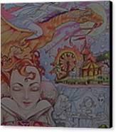 Flight Of Fancy Canvas Print by Jackie Rock