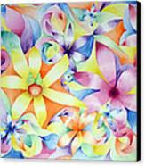 Floral Fractal Canvas Print by Linda Pope